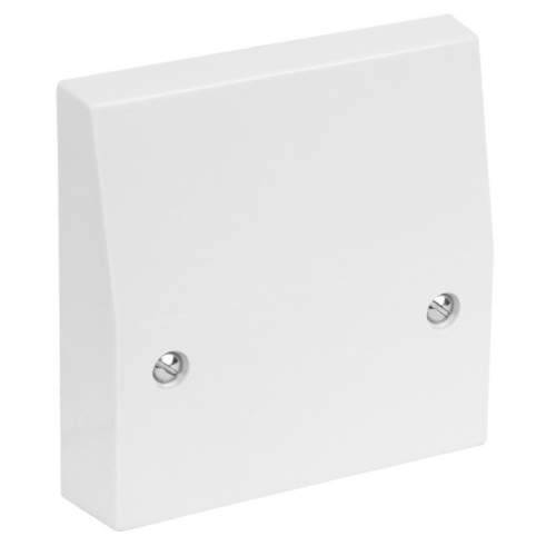 CED COP45 45amp flush cooker connector outlet plate white