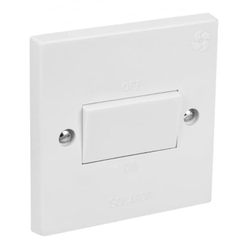 CED FAN F13P 3pole fan isolation switch white