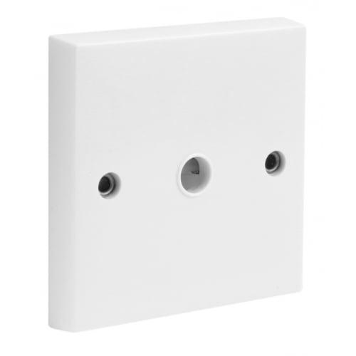 CED FOP 25amp Flex Outlet Plate White