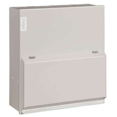Hager VML106 6 Way 100a Main Switch Consumer Unit