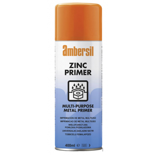 Ambersil 30298 Multi Purpose Zinc Primer 400ml aerosol spray
