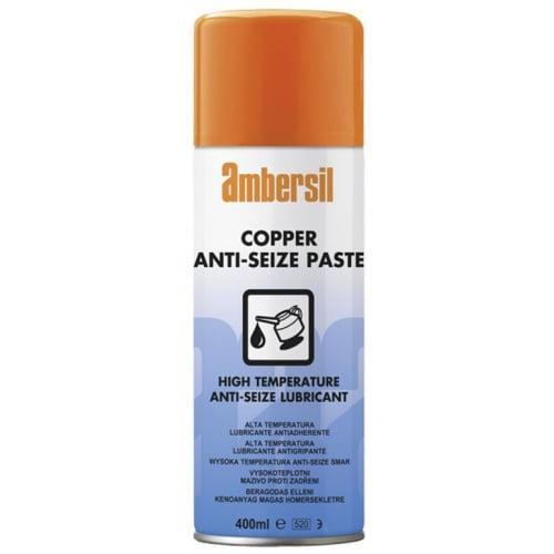 Ambersil 30303 Copper Anti-Seize Paste High Temp 400ml aerosol