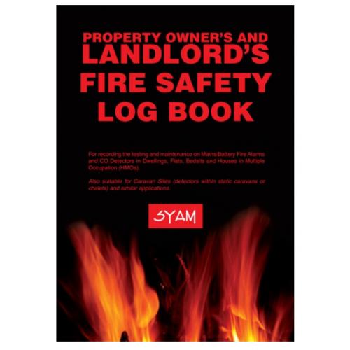 Syam FAB/LLB Landlords Fire Safety log book