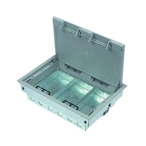 Britmac Grosvenor GR03G 3 compartment empty fast fix floor box