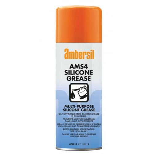 Ambersil 31566 AMS4 Multi-Purpose Silicone Grease 400ml aerosol