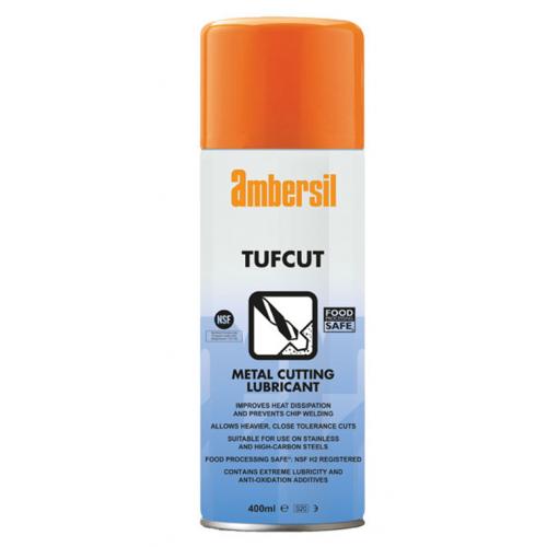 Ambersil 31579 Tufcut Spray Metal Cutting Lube 400ml aerosol