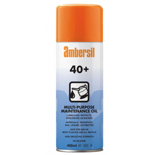 Ambersil 31563 40+ Protective Aerosol Spray Lubricant 400ml