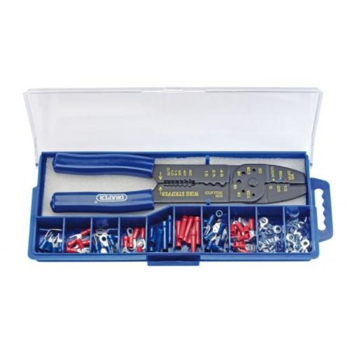 Draper 13658 CT-K 5way crimping tool set with 100 terminal