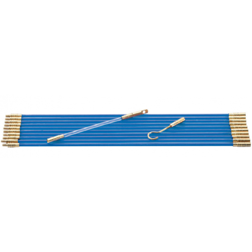 Draper 45275 10 x 330mm Cable Pulling Rod Set with Accessories