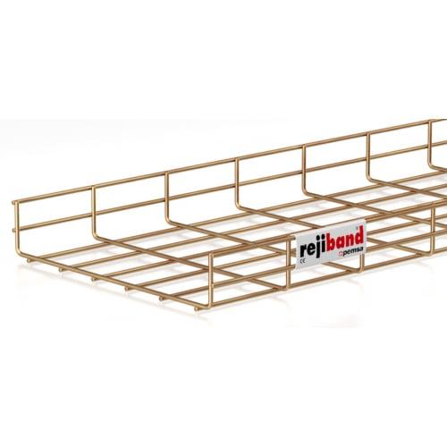 Pemsa Rejiband 60.222.300 300mm x 60mm Wire Basket Tray-3m Length