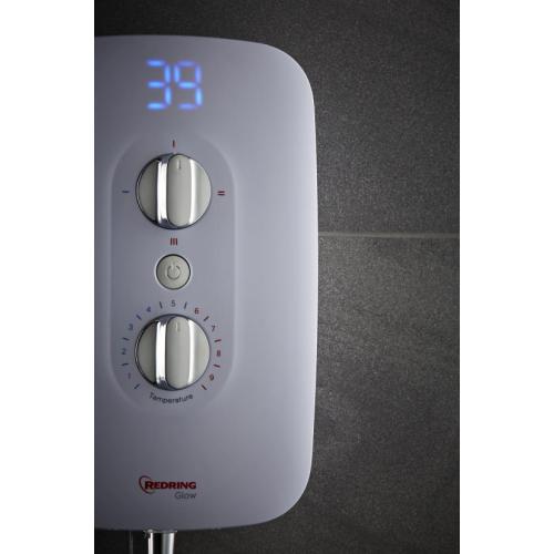 Redring 53535101 RGS9 Glow Shower 9.5kw