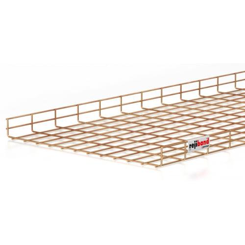 Pemsa Rejiband 60.222.600 600mm x 60mm Wire Basket Tray-3m Length
