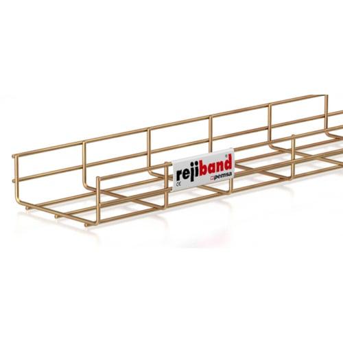 Pemsa Rejiband 60.222.150 150mm x 60mm Wire Basket Tray-3m Length