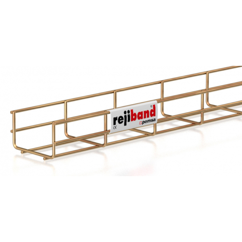 Pemsa Rejiband 60.222.100 100mm x 60mm Wire Basket Tray-3m Length