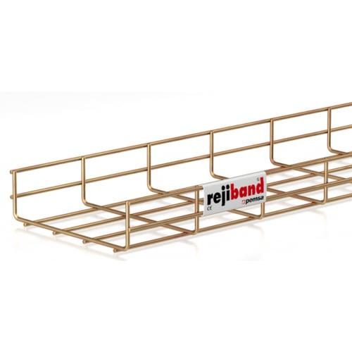 Pemsa Rejiband 60.222.200 200mm x 60mm Wire Basket Tray-3m Length