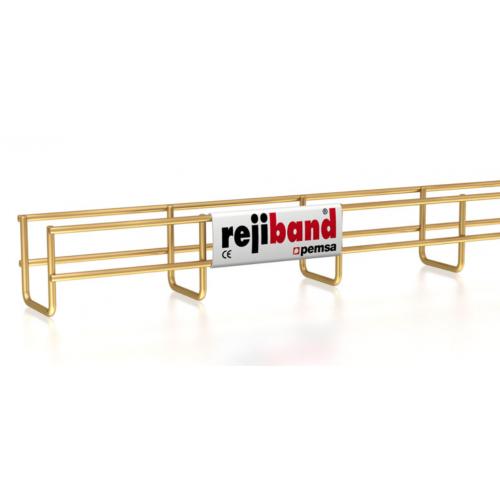 Pemsa Rejiband 60.222.060 60mm x 60mm Wire Basket Tray-3m Length