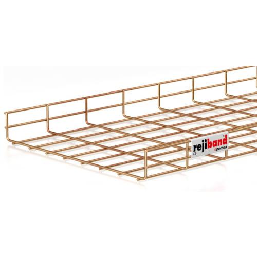 Pemsa Rejiband 60.222.400 400mm x 60mm Wire Basket Tray-3m Length