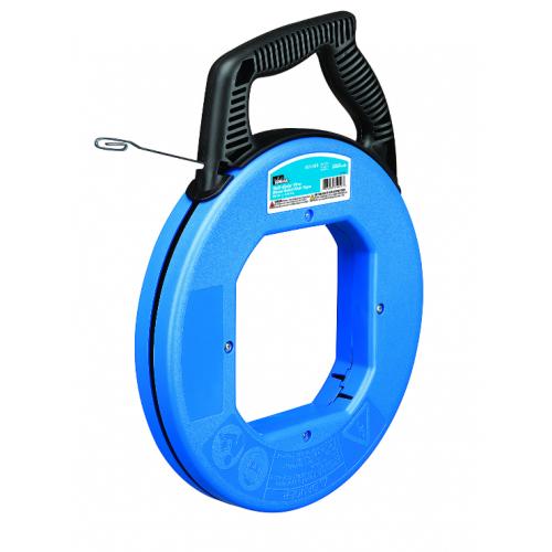 Ideal 31-057 Tuff-Grip 73m (240Ft) Pro Fish Tape Carbon Blue Steel