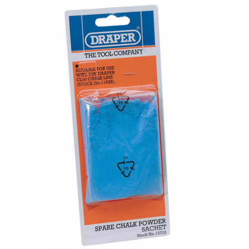 Draper 13703 Spare Blue Chalk for 86921, 10742, 10871, 11528 Chalkline