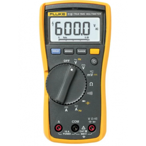 Fluke 115 600v AC/DC True RMS Digital Multimeter