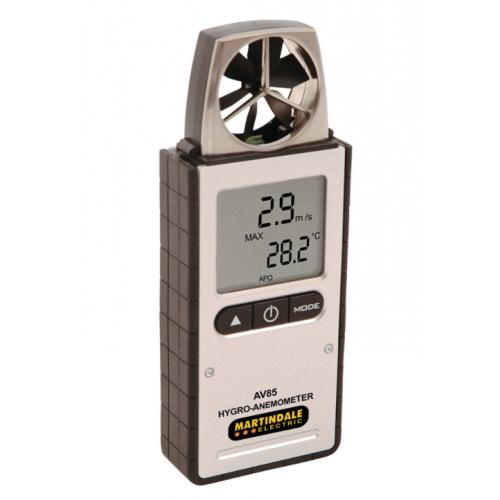 Martindale AV85 Hygo-Anemometer Airflow+Temp+Humidity Meter