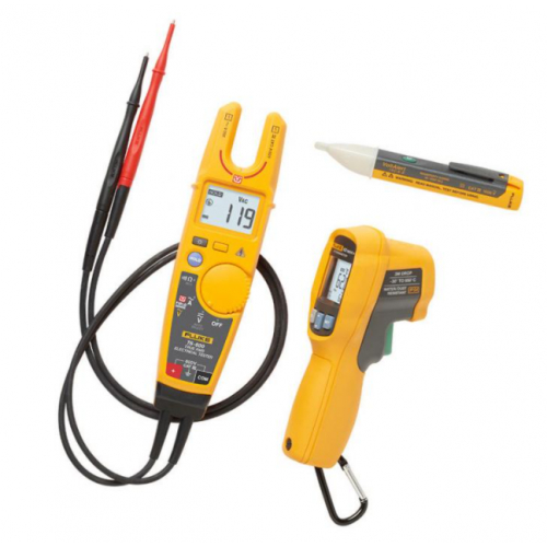 Fluke T6-600 with 62MAX+ IR Temperature meter, 1AC Voltage detector and C60 softcase