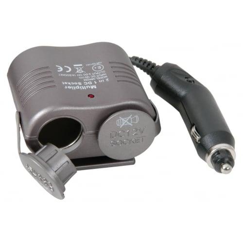 AVSL 660.797 Cigar lighter double adaptor converter 12vdc 1 amp ICA797