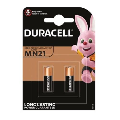 Duracell MN21B2 2x12v Alkaline Batteries(Pack=2)