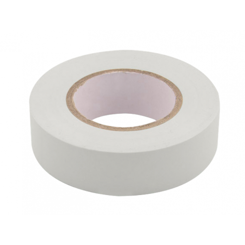 Unicrimp 1933W 19mm x 33 Metre White Insulation Tape BS3924