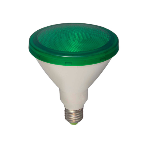 BELL 05651 15watt 240volt LED PAR38 ES 1300 Lumen GREEN Exterior Lamp
