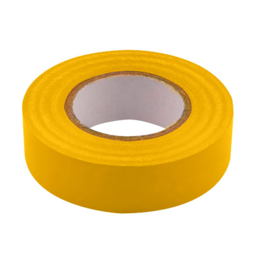 Unicrimp 1933Y 19mm x 33 Metre Yellow Insulation Tape BS3924