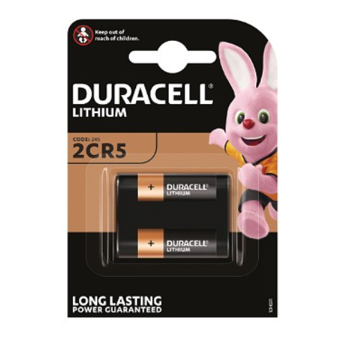 Duracell DL245 6 volt lithuim battery