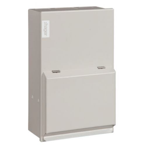 Hager VML202 2 Way 63a Main Switch Consumer Unit