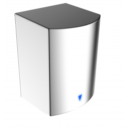 Anda 437217 1.6kw Polished Stainless Steel Automatic Hand Fast Dryer