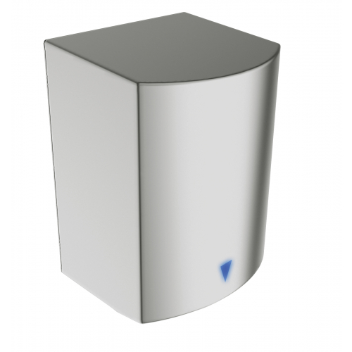 Anda 437218 1.6kw Satin Stainless Steel Automatic Hand Fast Dryer