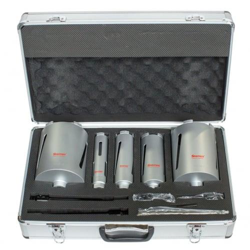 Starrett BMKIT1 Diamond Dri-Core Drill Kit 5 piece with carry case