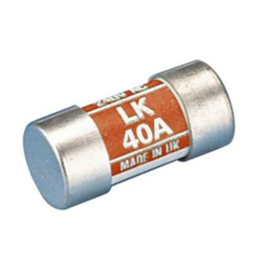 Lawson LK40 40 Amp BS88 Consumer Unit Fuse Link Colour Code Orange