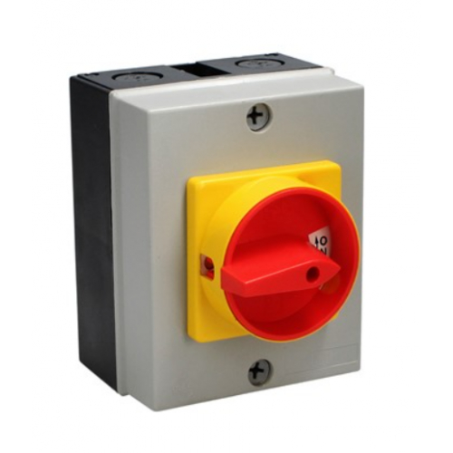 CED RS254 25amp 4pole surface rotary switch IP65