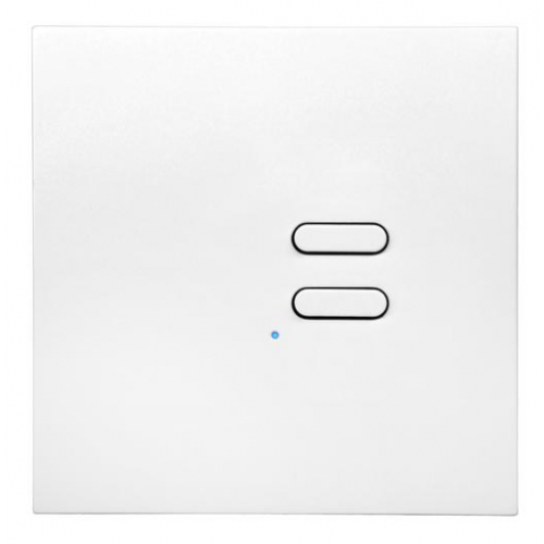 Wise Box WISEINTENSE2WH White Intense 2 Channel Wall Switch TVTXI868BB01MR