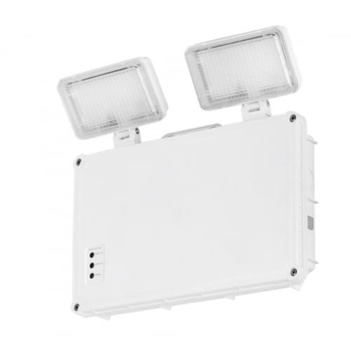 Aurora EN-EMTS 2x1.5w LED IP65 IK08 Non Maintained 3 hour Twinspot