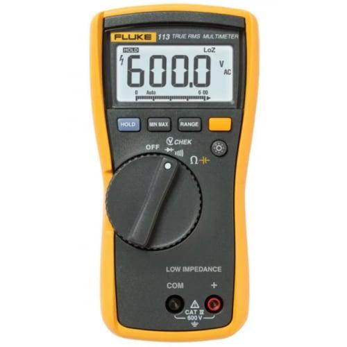 Fluke 113 600v AC/DC True RMS Digital Multimeter