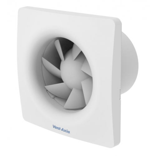"""Vent Axia VASF100TCO Silent 100mm 4"""" Continuous Run Variable Speed, Timer Fan"""