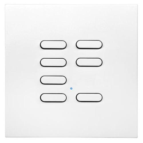 Wise Box WISEINTENSE7WH White Intense 7 Channel Wall Switch TVTXI868BB01MR