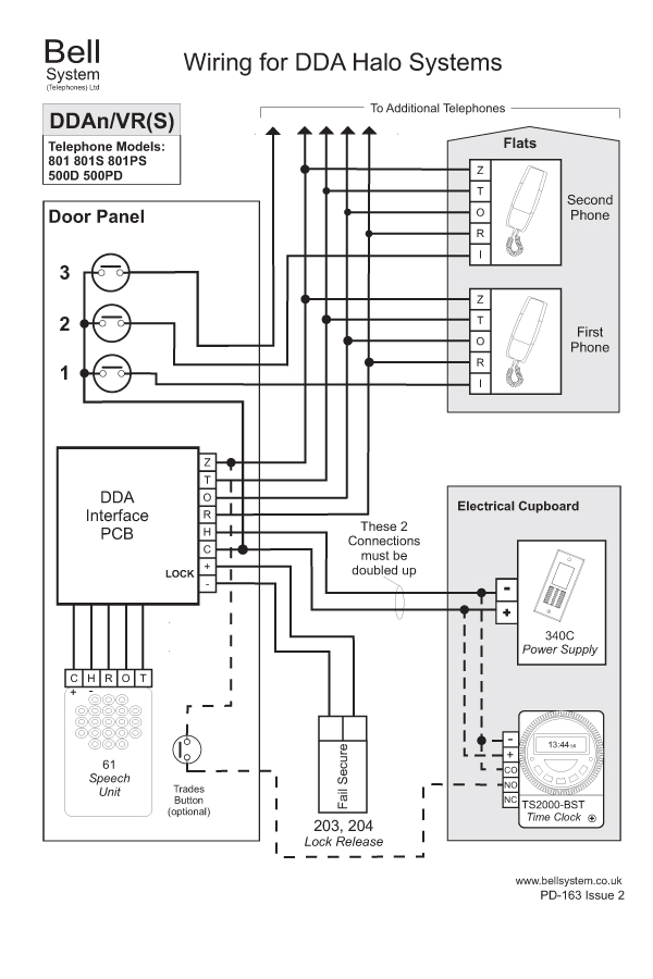 Wiring Diagram For Door Entry System: Buy BELL 903 3way Surface Door Entry Kit with Yale Lock Release ,Design