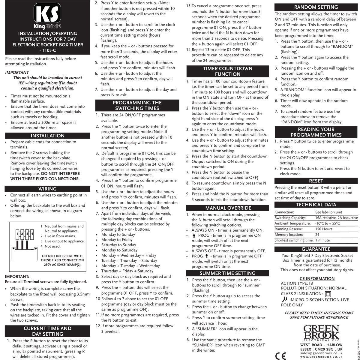 buy kingshield t105