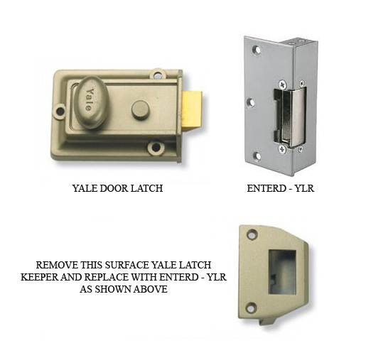 Esp Enterd Ylr Yale 12vdc Surface Lock Latch Release