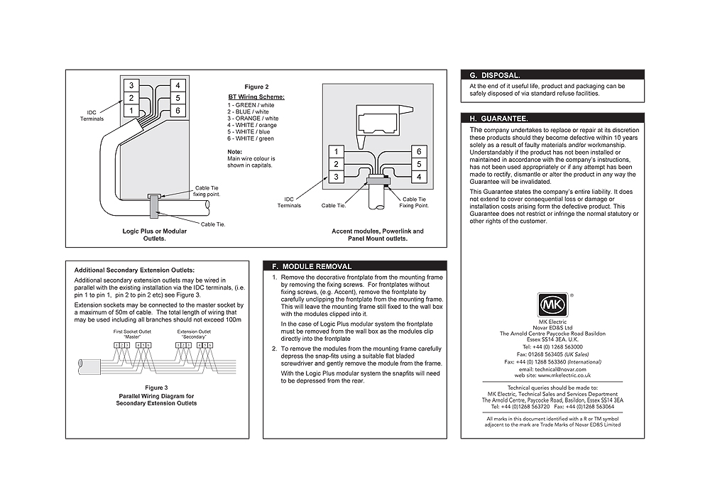 Fantastic Mk K422Whi Single Master Bt Flush White Telephone Socket Edwardes Wiring Digital Resources Apanbouhousnl